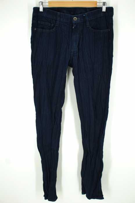 ISSEY MIYAKE MEN(イッセイミヤケメン) 15SS プリーツデニムパンツ メンズ パンツ
