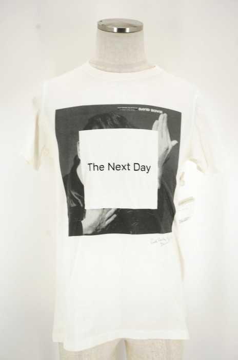 Paul Smith × David Bowie (ポールスミス × デビッドボウイ) 「The next day」プリントTシャツ メンズ トップス