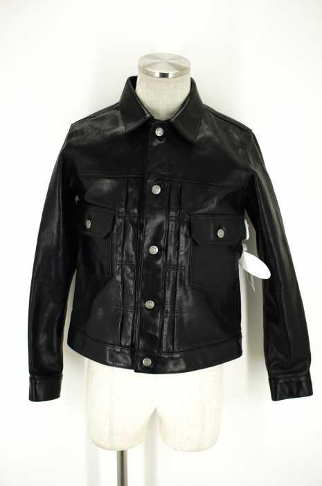 The Letters (ザ レターズ) 16AW 2nd Leather Jacket ホースレザージャケット メンズ アウター