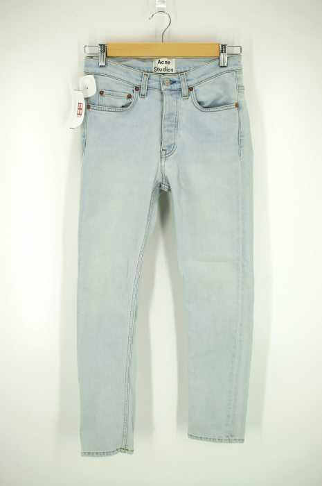 ACNE STUDIOS (アクネストゥディオズ) ウォッシュボタンフライストレッチ メンズ パンツ