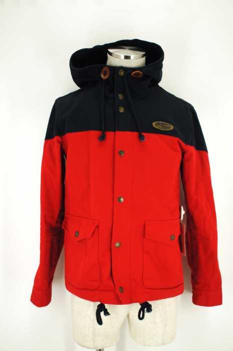 THE ETBX Work Clothing (イーティービーエックス) バイカラフーデッドジャケット メンズ アウター