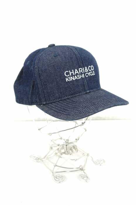 KINASHI CYCLE × override × CHARI&CO(キナシサイクル オーバーライド チャリアンドコー) デニムキャップ メンズ 帽子