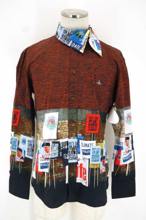 Vivienne Westwood MAN (ヴィヴィアンウエストウッドマン) フォトプリントシャツ メンズ トップス