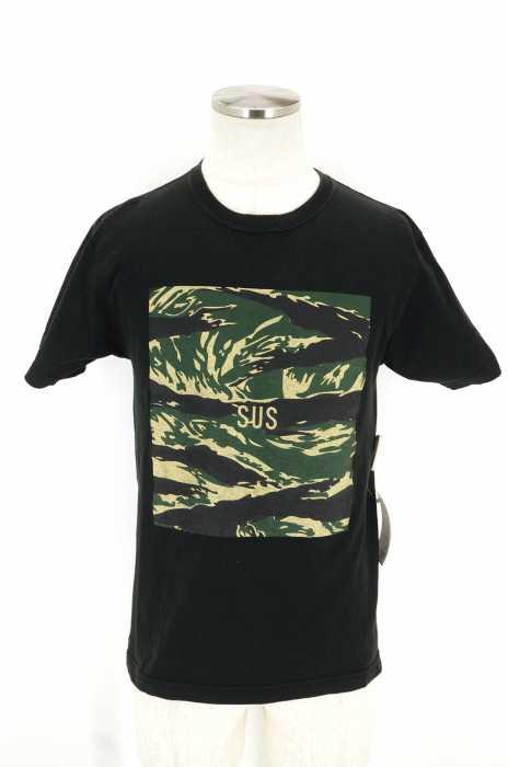 SUS (サス) ロゴプリントTシャツ メンズ トップス