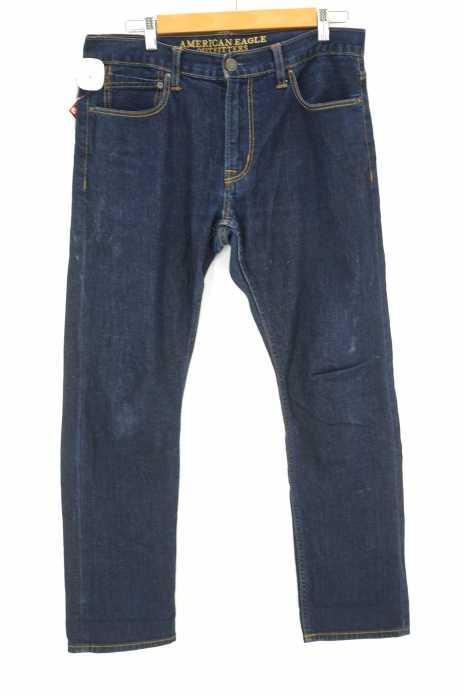 AMERICAN EAGLE OUTFITTERS (アメリカンイーグルアウトフィッターズ) CORE FLEX SLIM ハイライズデニムパンツ メンズ パンツ