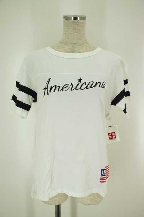Americana (アメリカーナ) スウェットTシャツ レディース トップス
