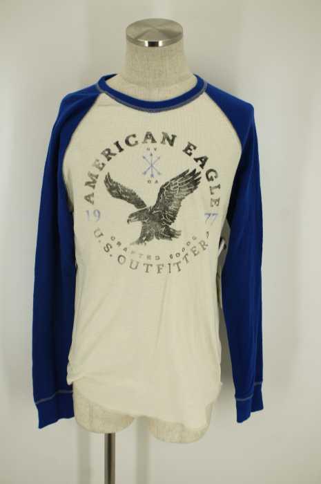 AMERICAN EAGLE OUTFITTERS (アメリカンイーグルアウトフィッターズ) 切替ラグランTシャツ メンズ トップス