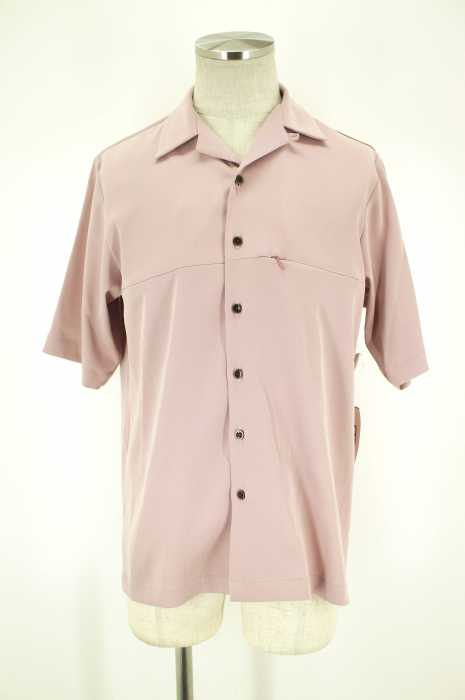 STUDIOUS (ステュディオス) 17SS ハイツイストオープンカラーシャツ メンズ トップス