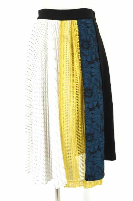 UNITED TOKYO  (ユナイテッドトウキョウ) コラージュプリーツスカート レディース スカート