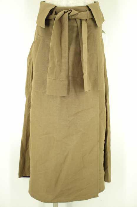 La porte de demain (ラポルト ドゥ ドゥマン) ベルト付きスカート レディース スカート