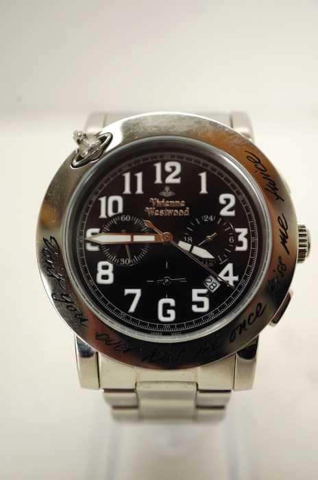 Vivienne Westwood (ヴィヴィアンウエストウッド) KISS ME ONCE MウォッチBK 腕時計 メンズ 腕時計