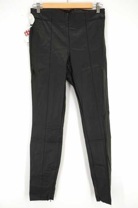 ZARA trafaluc (ザラトラファルック) 裾ジップフェイクレザーパンツ レディース パンツ