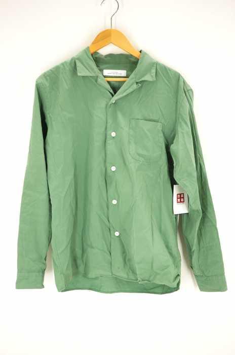 UNITED ARROWS green label relaxing (ユナイテッドアローズグリーンレーベルリラクシング) CM コットンシルク オープンカラー LS シャツ メンズ トップス