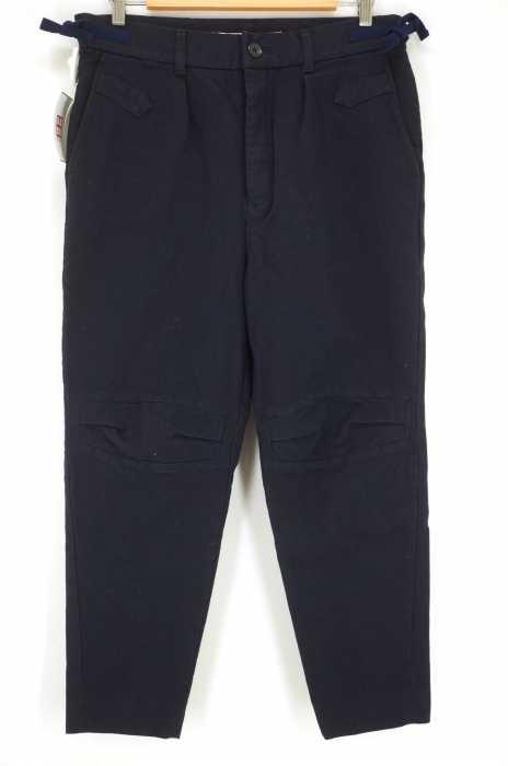 undecorated MAN (アンデコレイテッドマン) アジャスターベルト付きウールデザインパンツ メンズ パンツ