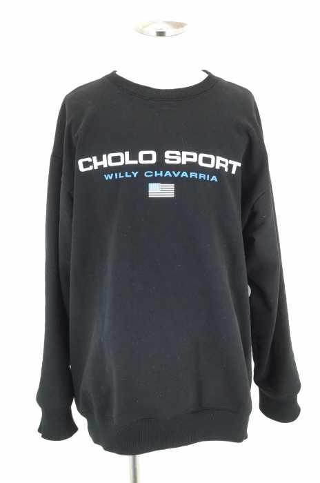 WILLY CHAVAWISM (ウィリー キャバリエ × ウィズム) 17AW CHOLO SPORTS SWEAT チョロスポーツ ブートスウェット メンズ トップス