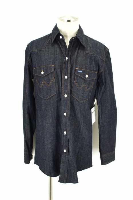 Wrangler × soe shirts (ラングラー× ソーイ シャツ) デニムシャツ RANCHER SHIRT メンズ トップス