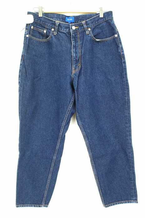 BEAMS (ビームス) 17SS バギーテーパードデニムパンツ メンズ パンツ