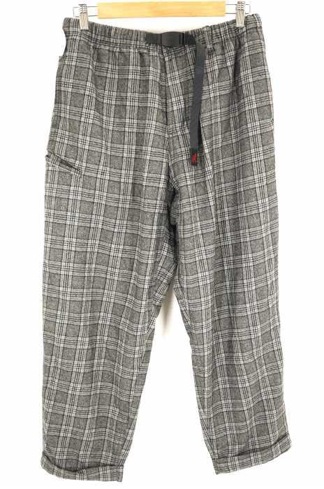 GRAMICCI (グラミチ) WOOL BLEND RESORT PANTS ウールブレンドリゾートパンツ グレンチェック メンズ パンツ