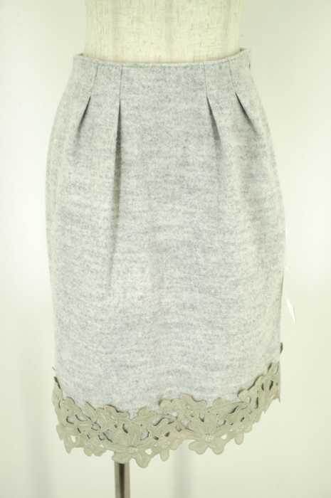 PROPORTION BODY DRESSING (プロポーションバイボディードレッシング) 16AW フルッフィーエンブロイダリースカート レディース スカート