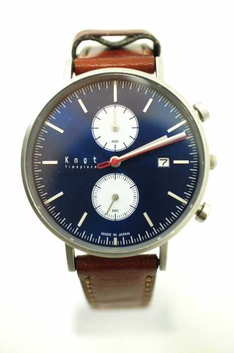 KNOT (ノット) AC-39 クロノグラフ 腕時計 メンズ ファッション雑貨