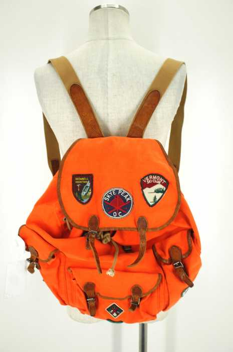 Rugby Ralph Lauren (ラグビーラルフローレン) ワッペン付きバックパック リュック メンズ バッグ