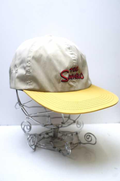 SAYHELLO (セイハロー) バイカラーロゴキャンプキャップ メンズ 帽子