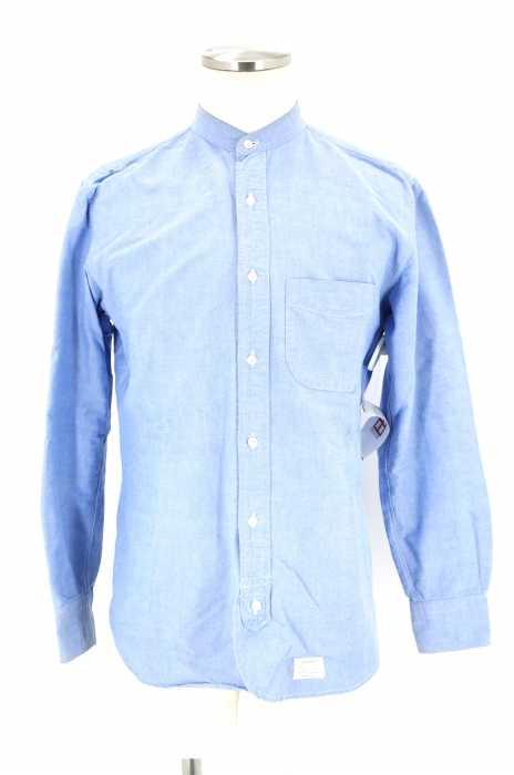 Utility Garments (ユーティリティーガーメンツ) バンドカラーシャツ メンズ トップス