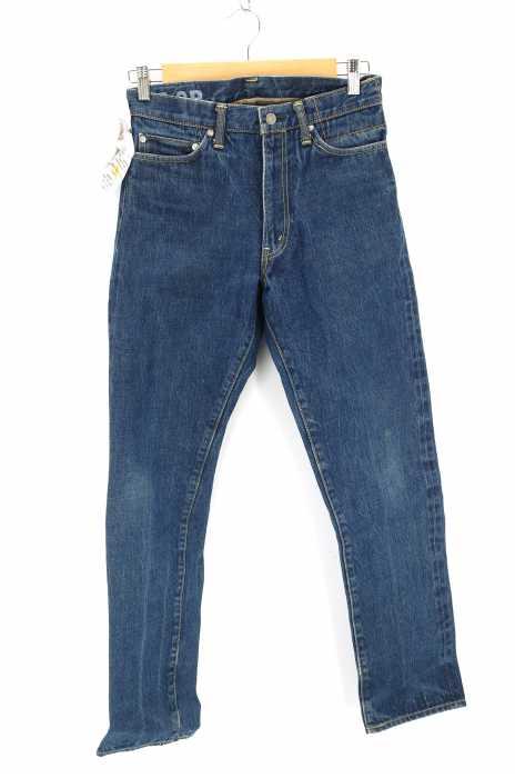 VISVIM (ビズビム) social sculpture denim 05.2R 色落ち加工デニムパンツ メンズ パンツ