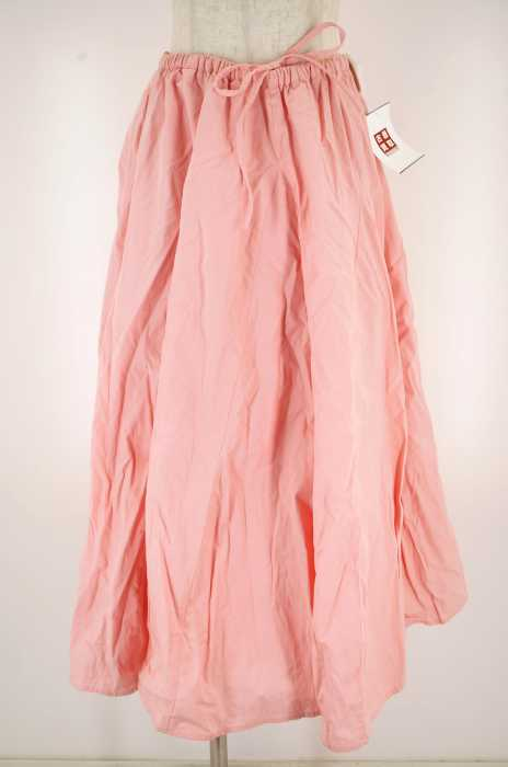 UNITED ARROWS style for living (ユナイテッドアローズスタイルフォーリビング) コットン ロングドローコードスカート レディース スカート