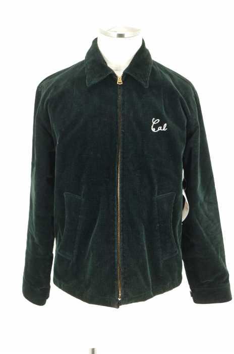 CALEE (キャリー) 13AW RICE CORD WORK JACKET ライスコールワークジャケット コーデュロイブルゾン メンズ アウター