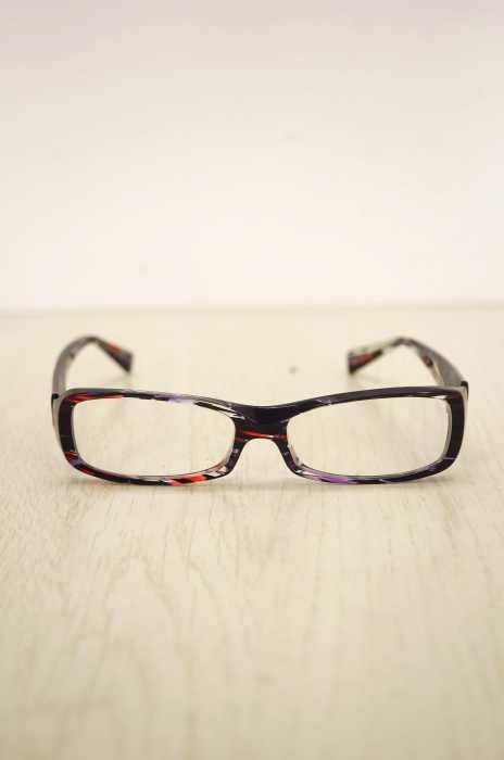 alain mikli(アランミクリ) プラスチックフレーム眼鏡 メンズ ファッション雑貨