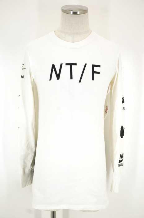 NIKE (ナイキ) ロング丈プリントTシャツ メンズ トップス