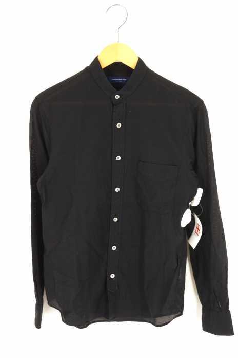 TOMORROWLAND(トゥモローランド) メッシュバンドカラーシャツ メンズ トップス