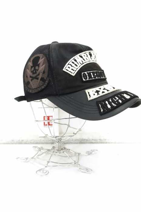 Roen (ロエン) レザーワッペン使い メッシュキャップ メンズ 帽子