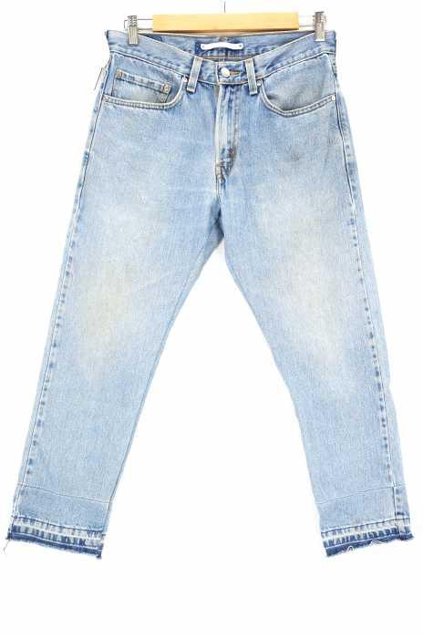 UNITED TOKYO (ユナイテッドトウキョウ) リメイクテーパードデニムパンツ メンズ パンツ