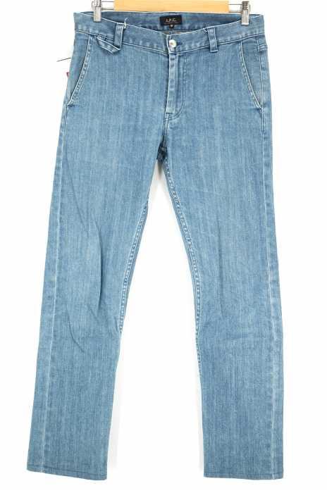A.P.C. (アー・ペー・セー) アイスウォッシュデニムパンツ メンズ パンツ