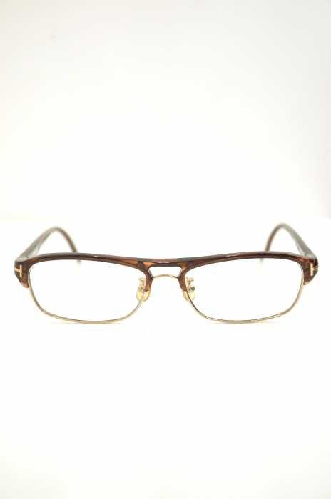 TOM FORD (トムフォード) TF5103 コンビブロー眼鏡 メンズ ファッション雑貨