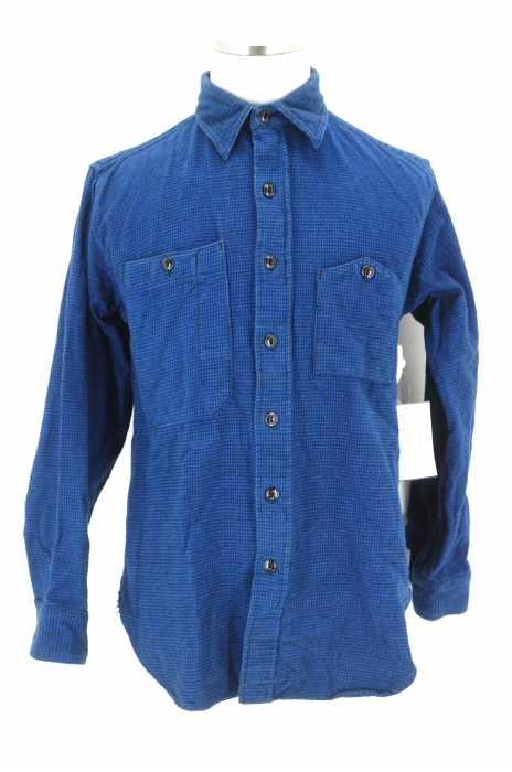 Engineered Garments (エンジニアードガーメンツ) Work Shirt - Houndstooth Flannel 千鳥格子ワークシャツ メンズ トップス