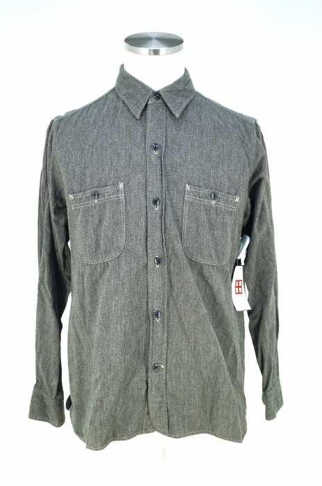 ANTHONY&COYOTE (アンソニー&コヨーテ) シャンブレーワークシャツ メンズ トップス