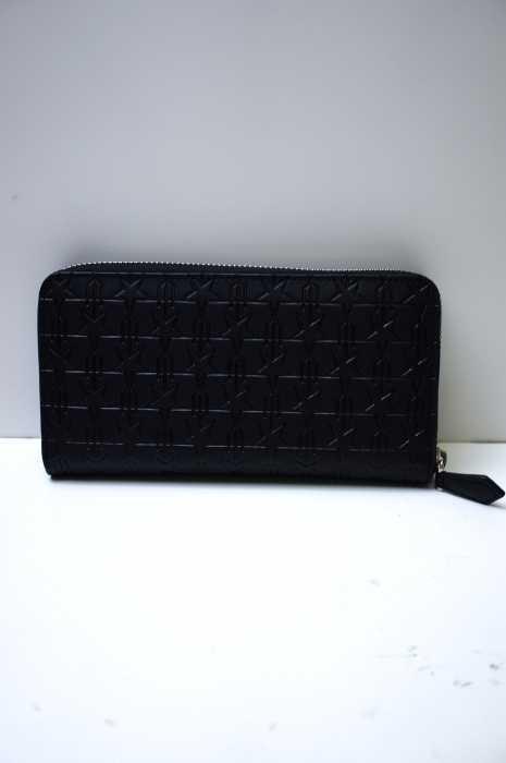 GIVENCHY (ジバンシィ) 16SS スター トライデント ラウンドジップ財布 メンズ ファッション雑貨
