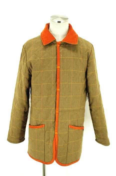 Johnstons × LAVENHAM (ジョンストンズ×ラベンハム) キルティングジャケット メンズ アウター
