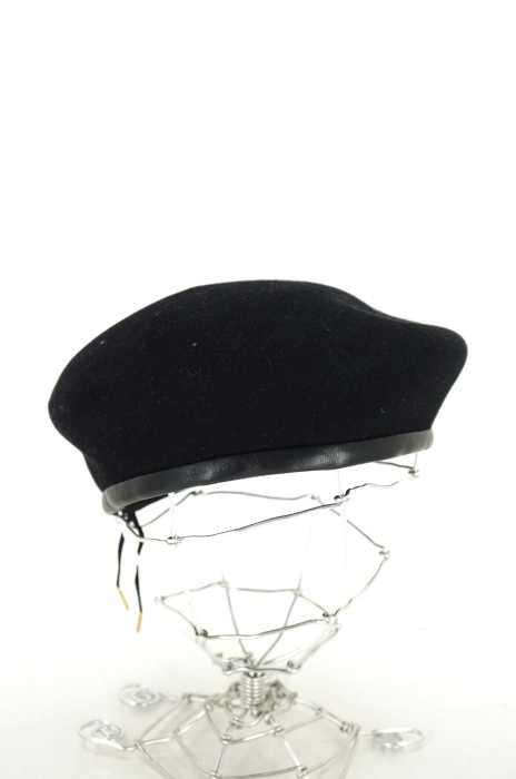 FUMIKA UCHIDA(フミカウチダ) 16AW RABBIT FUR PLAIN BERET レディース 帽子