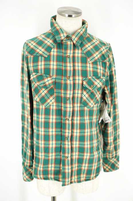 TMT (ティーエムティー) ダブルガーゼチェックシャツ メンズ トップス