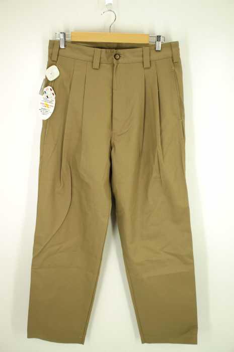 is-ness (イズネス) 17SS「AH EDITORIAL WIDE CHINO PANTS」チノパンツ メンズ パンツ
