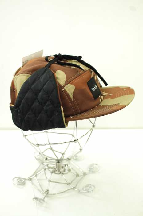 HUF (ハフ) キルティングフライトキャップ メンズ 帽子