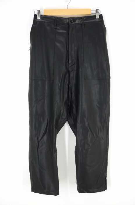 N.HOOLYWOOD (エヌハリウッド) 17AW フェイクレザーイージーパンツ メンズ パンツ