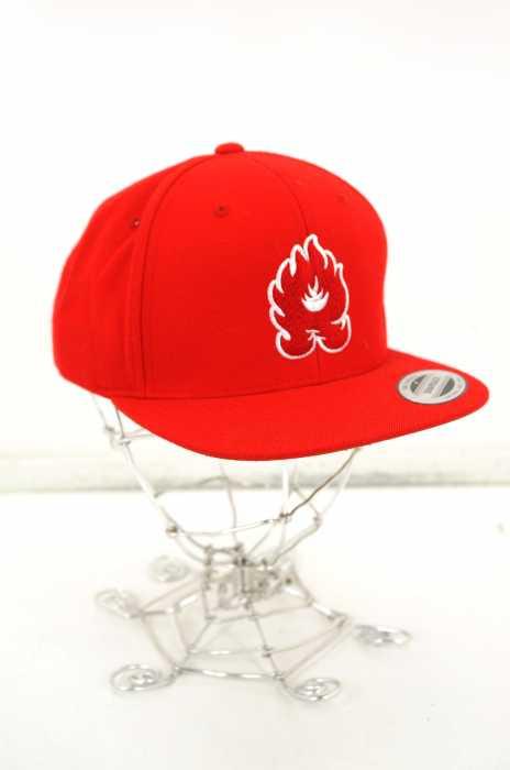 RISEY(ライジー) ファイヤーワッペンスナップバッグ キャップ メンズ 帽子