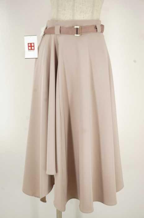MERCURYDUO (マーキュリーデュオ) ベルテッドフレアスカート レディース スカート