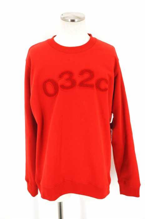 032c (ゼロスリーツ―シー) 刺繍スウェットプルオーバー メンズ トップス