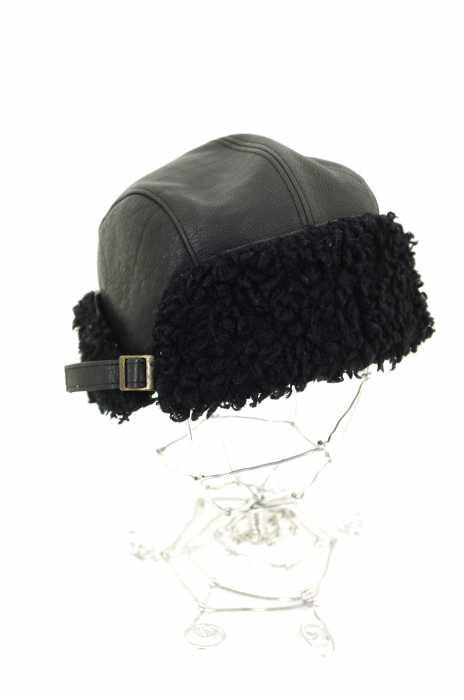 CA4LA (カシラ) cow skin レザーボアキャップ レディース 帽子